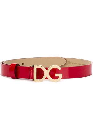 Dolce & Gabbana Girls Belts - Logo plaque belt