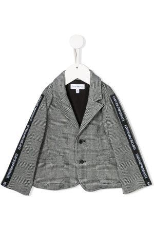 Emporio Armani Logo lined blazer