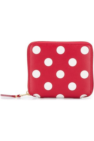 Comme des Garçons Wallets - Polka-dot compact wallet