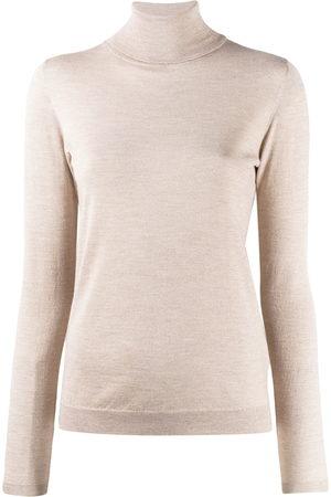 Brunello Cucinelli Women Sweatshirts - Roll neck sweatshirt