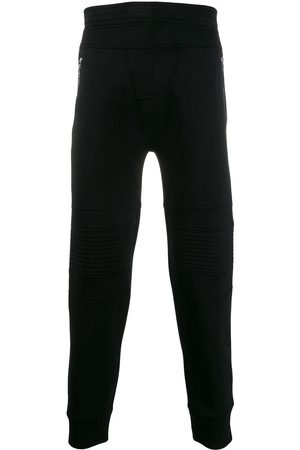 Neil Barrett Ribbed detail joggers