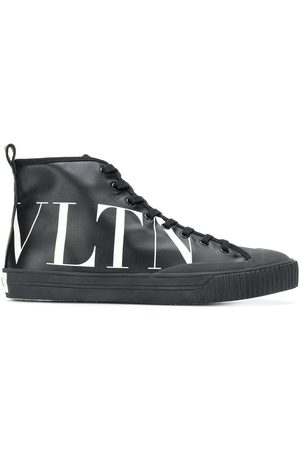 VALENTINO Side-printed logo sneakers