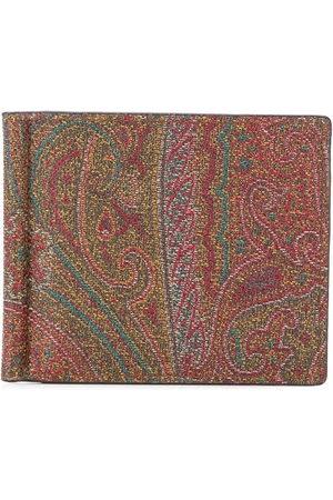 Etro Paisley print bifold wallet