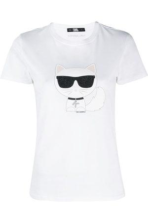 Karl Lagerfeld Ikonic Choupette T-shirt