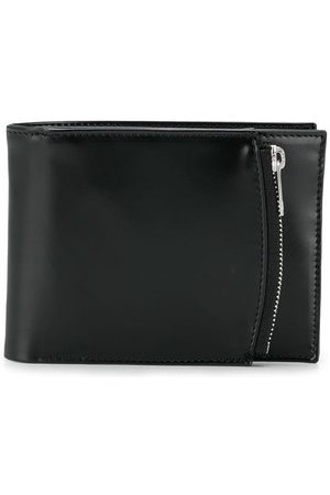 Maison Margiela Men Wallets - Small bi-fold leather wallet