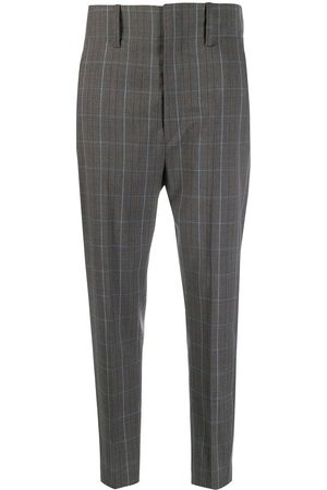 Isabel Marant Chequered suit trousers