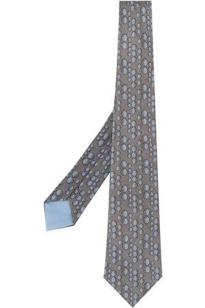 Hermès 2000s pre-owned bubbles tie