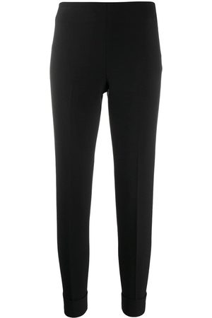 PESERICO SIGN Slim-fit cropped trousers