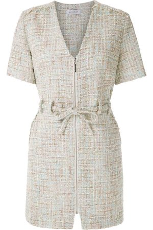 Olympiah Knitted belted playsuit