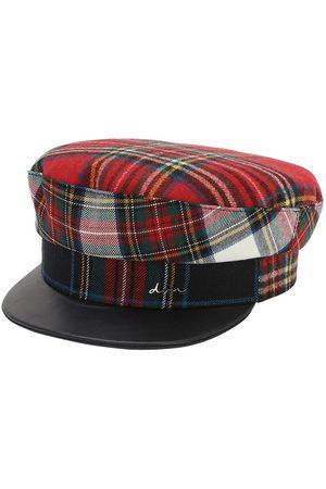 DON Women Hats - Wool Tartan Sailor Cap