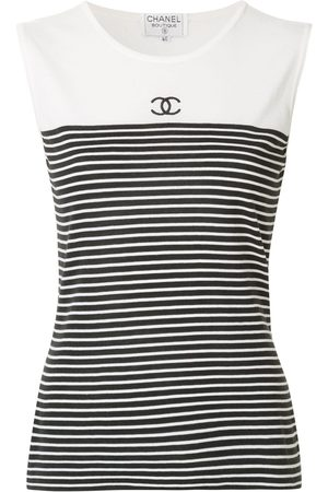 Chanel Pre-Owned Sleeveless Tops