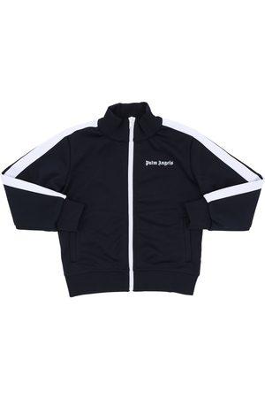 Palm Angels Zip-up Techno Sweatshirt