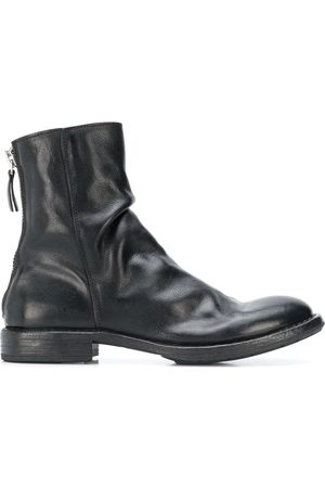 Moma Wrinkled ankle boots