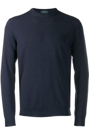 ZANONE Men Jumpers - Crew-neck knit sweater