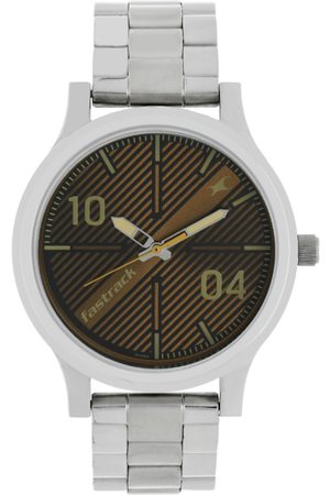 Fastrack Men Brown Analogue Watch 38051SM02