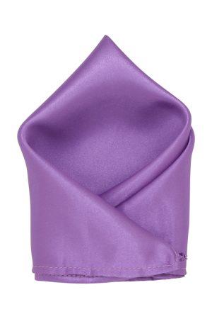 Blacksmith Men Purple Solid Pocket Square