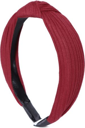PRITA Women Maroon Knot Detail Hairband