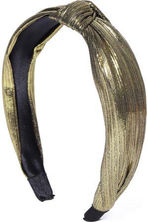 PRITA Women Gold-Toned Knot Detail Hairband
