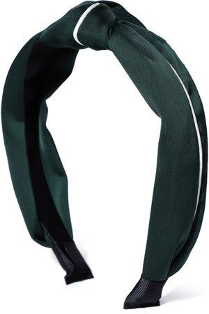 PRITA Green & White Striped Hairband