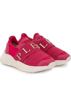 Philipp Plein Junior Runner logo sneakers