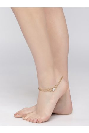 OOMPH Women Gold Plated Anklet