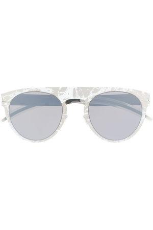 MYKITA X Maison Margiela Transfer round frame sunglasses