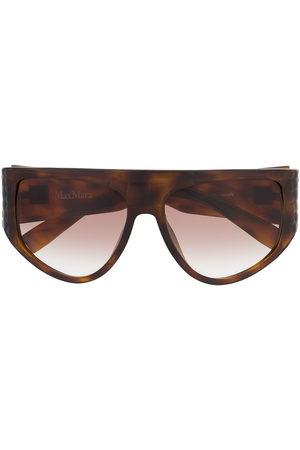 Max Mara Sunglasses - D-frame oversized sunglasses