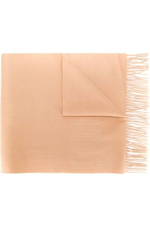 N.PEAL Large woven cashmere scarf