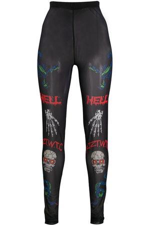 KTZ Death Metal Minimal Print leggings