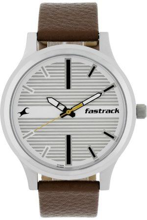 Fastrack Fundamentals Men White Analogue watch NL38051SL01