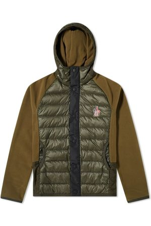 Moncler Down Knitted Jacket