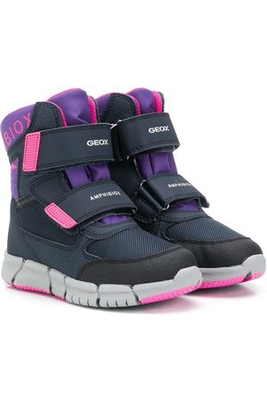 Geox Girls Ankle Boots - Waterproof Amphibiox Technology ankle boots