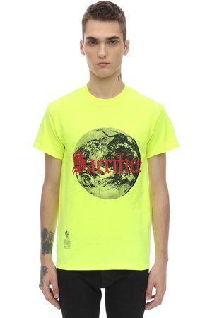 DARKOVELI Men T-shirts - Sacrifice Cotton Jersey T-shirt