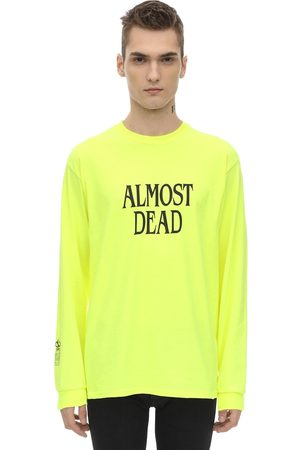 DARKOVELI Men T-shirts - Almost Dead Jersey T-shirt