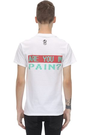 DARKOVELI Men T-shirts - Are You In Pain? Cotton Jersey T-shirt