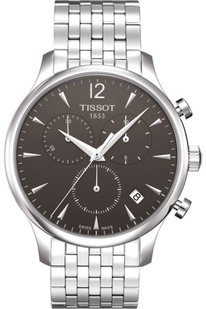 Tissot Men Charcoal Grey Tradition Chronograph Watch T0636171106700