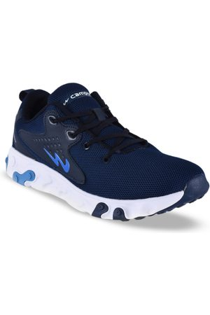 Campus Men Shoes - Men Navy Blue Mesh BOLD Running Shoes