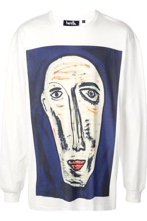 HACULLA Men Long Sleeve - Never Knew abstract print T-shirt