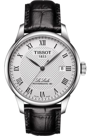 Tissot Men Silver-Toned Le Locle Powermatic 80 Analogue Watch T0064071603300