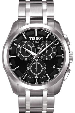 Tissot Men Black Couturier Chronograph Analogue Watch T0356171105100