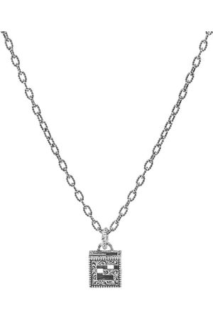 Gucci G Cube Pendant Necklace