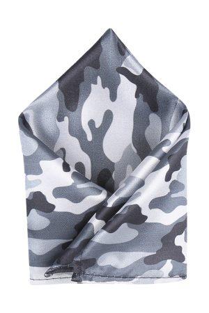 Blacksmith Men Grey Pocket Squares
