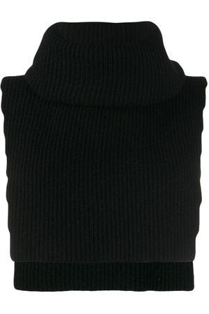 Cashmere In Love Women Vests - Knit overlay Brooke vest