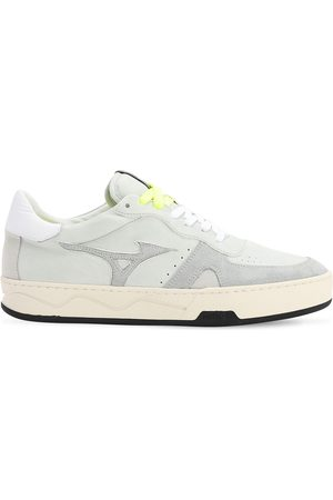 Mizuno Men Sneakers - Saiph 3 Nu Leather & Suede Sneakers