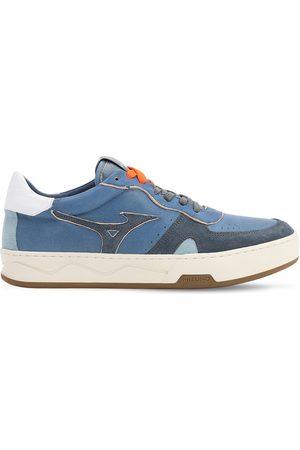Mizuno Saiph 3 Nu Leather & Suede Sneakers