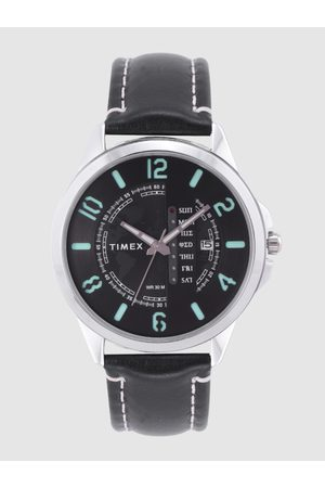 Timex Men Black Printed Analogue Watch TWEG16502