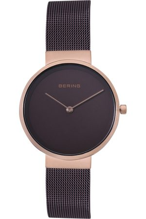 Bering Women Classic Brown Sapphire Crystal Analogue Watch 14531-262