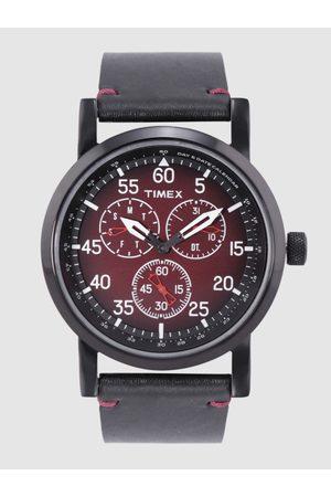 Timex Men Maroon Analogue Watch TWEG16604