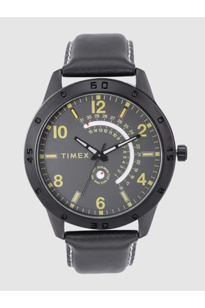 Timex Men Charcoal Grey Analogue Watch TW000U929
