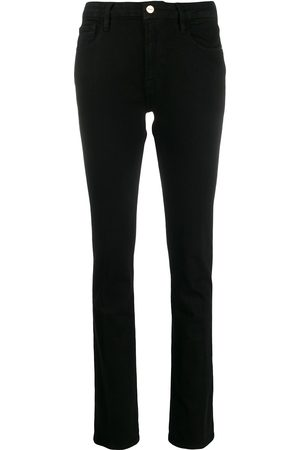 Frame Sylvie Slender high-rise straight jeans